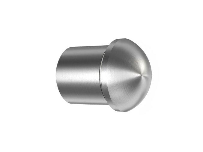 Čočkovitá záslepka vložená do trubky Ø12 x 1.5 mm, broušená