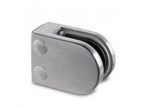Držák skla 63 x 45 mm, pro profil, sklo 10.76 - 12.76 mm