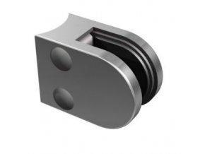 Nerezový držák skla pro sloupek D48,3mm/50x40mm