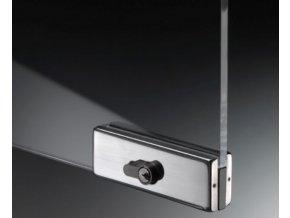 Zámek pro skleněné dveře typ 58500