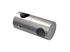 Nerezový držák svislé výplně pro tyč pr. 12/ pr. 14 mm, AISI 304
