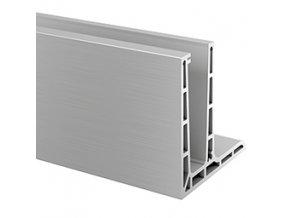 Montážní profil pro sklo od 12 do 21,52 mm, délka 5 mb