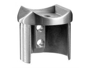Adaptér sloupku Ø48,3 mm pro madlo Ø48,3 mm, AISI 316
