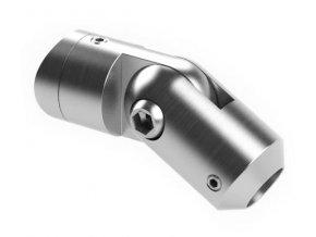 Nerezový držák výplně pro profil/rovnou plochu, nastavitelný, AISI 304