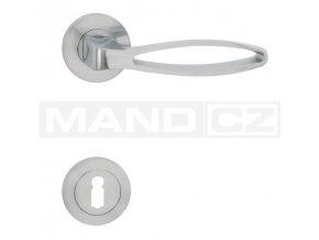 Kování Cobra VALI R Provedení: (Povrch Chrom mat, Provedení WC - klika/klika s otvorem pro WC, koupelna)
