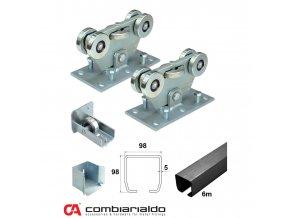 Sety pro samonosné brány do 8,5 m průjezdu Combi Arialdo C SET-M/FE Klasik- pro brány do 8,5 m  10% sleva pro registrované zákazníky