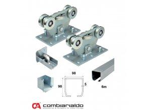 Sety pro samonosné brány do 8,5 m průjezdu Combi Arialdo C SET-M/Zn Klasik- pro brány do 8,5 m  10% sleva pro registrované zákazníky
