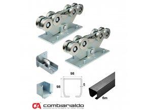 Sety pro samonosné brány do 8,5 m průjezdu Combi Arialdo C SET-M/FE 9 - pro brány do 8,5 m  10% sleva pro registrované zákazníky