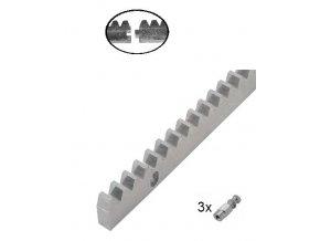 Hřebeny  CREM-8K Hřeben, 30 x 8 mm, do 1200kg, M4  10% sleva pro registrované zákazníky