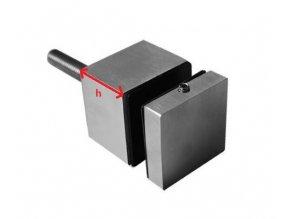 Bodový držák skla - hranatý 50x50mm AISI 304 -brus