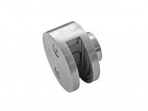 Držák z nerez oceli krajní pro plochý sloupek, AISI 304