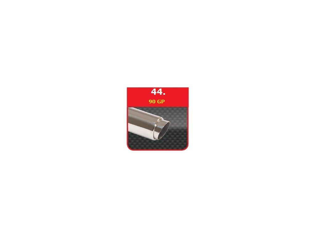 44 - Nerezová koncovka výfuku - 90 GP