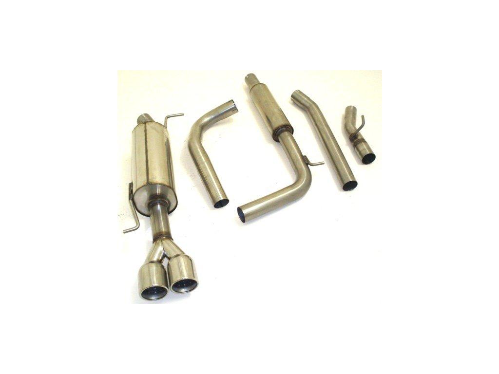 A1 - středový a koncový díl 63,5 mm - NEREZ