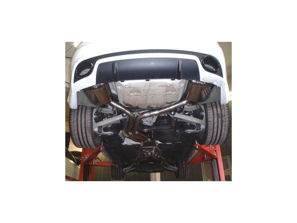 Nerezový výfuk Duplex (70mm) s klapkou ovládání pro Audi RS5 B8