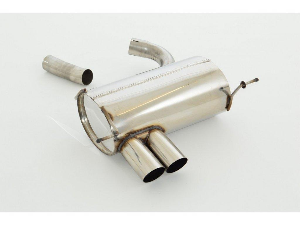 1er E81 / E87 - koncový díl 63,5 mm - NEREZ