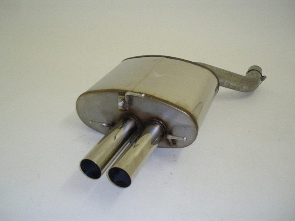 E60/E61 - koncový díl 63.5 mm - NEREZ