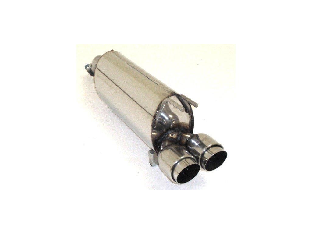 Spark - koncový díl 63,5 mm - NEREZ