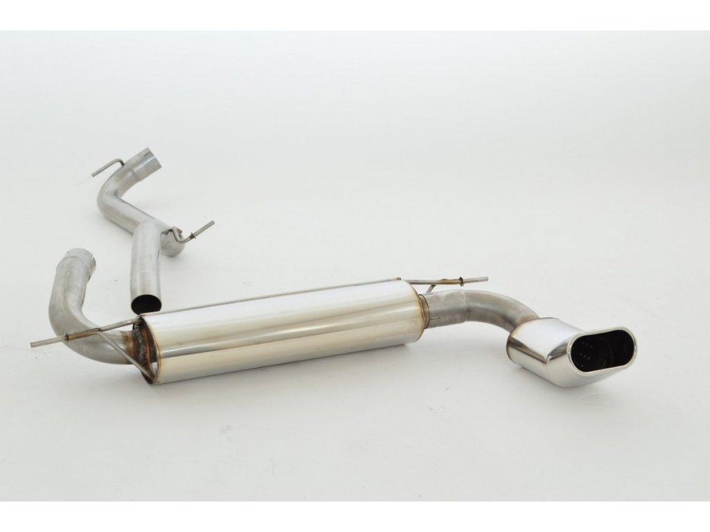 DXA - koncový díl 63,5 mm - NEREZ