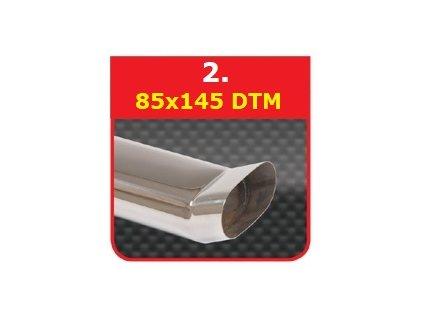 2 - Nerezová koncovka výfuku - 75+C124135 DTM