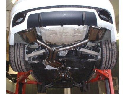 RS5 B8 - středový a koncový díl Duplex 70 mm - NEREZ