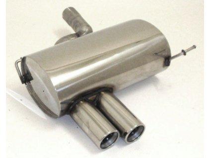 1er E82, E88 - koncový díl 63,5 mm - NEREZ