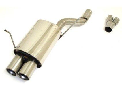 E46 - koncový díl 63,5 mm - NEREZ