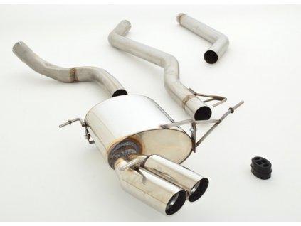 Nerezový výfuk (70mm, konc. a stř. díl) pro BMW E92