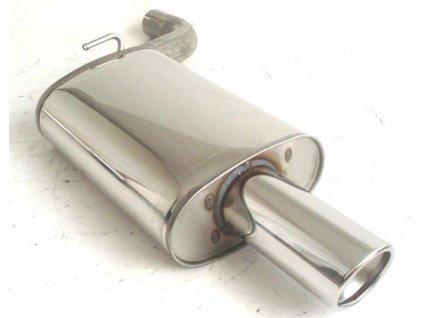 E39 - koncový díl 63.5 mm - NEREZ