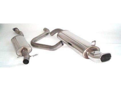 Escort - středový a koncový díl 63,5 mm - NEREZ
