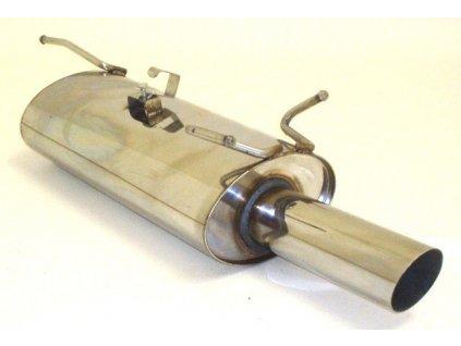 Astra F - koncový díl 63,5 mm - NEREZ