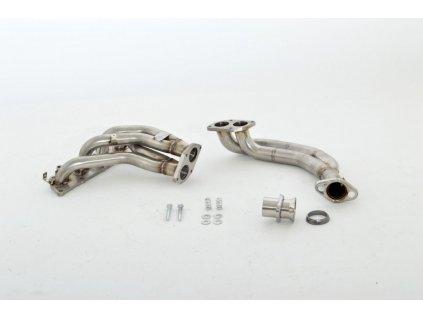 Calibra - nerezové svody pro vůz s jednodílnou olejovou vanou.