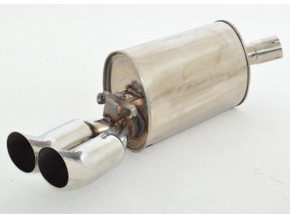 Nerez výfuk - koncový díl - 63,5 mm