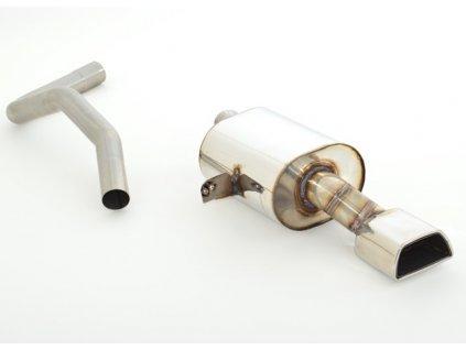 Nerezový výfuk - koncový díl - 63,5 mm