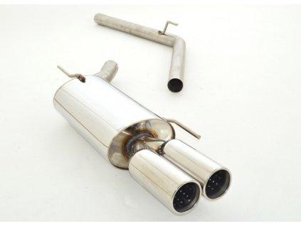 Nerezový výfuk - koncový díl - 63.5 mm