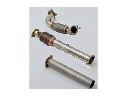 Downpipe 76mm s 200 HJS Sport-Kat.