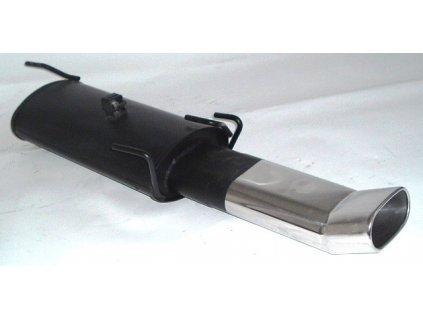 Astra F - koncový díl 63,5 mm - HLINÍKOVANÝ