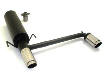 Astra G - koncový díl Duplex 63,5 mm - HLINÍKOVANÝ