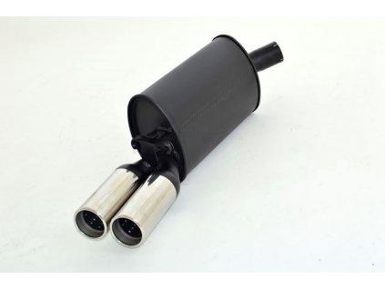 Hliníkovaný výfuk - koncový díl - 63,5 mm