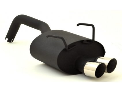 Zadní tlumič výfuku - hliníkovaný