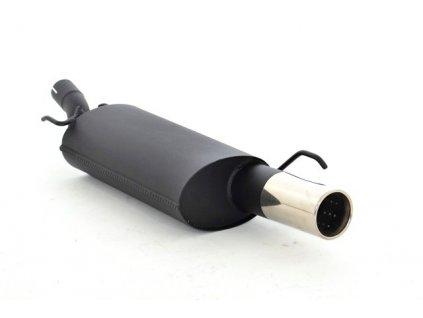 Koncový díl 63,5 mm - HLINÍKOVANÝ