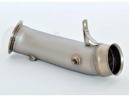 Nerezový Downpipe - 90mm