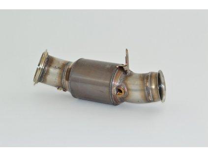 Nerezový Downpipe - 90mm s 200 HJS Sport Kat