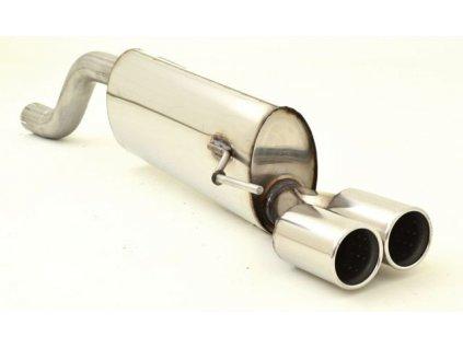 Punto - koncový díl 63,5 mm - NEREZ