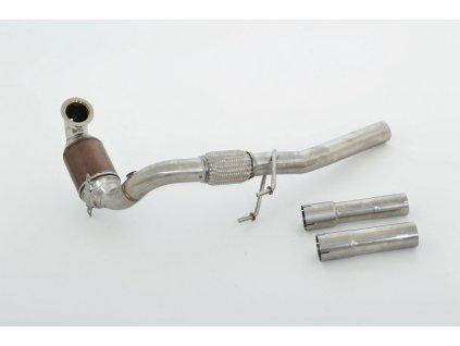 Downpipe 63.5mm s HJS Sport-Katem - NEREZ