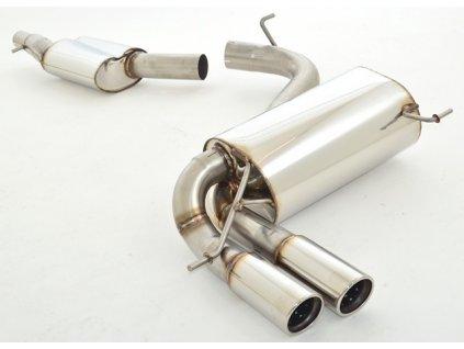 8P - nerezový výfuk - středový a koncový díl 76 mm (Velikost potrubí 76)