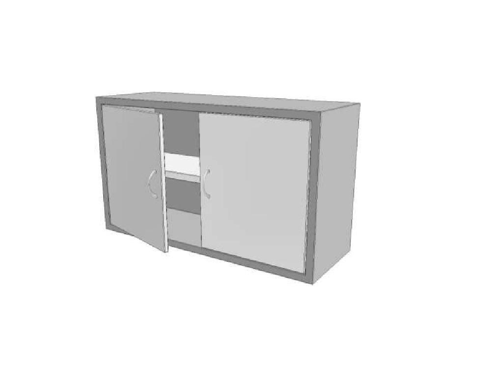 14234 skrinka uzavrena s kridlovymi dvirky a polici knssdk 350x1500