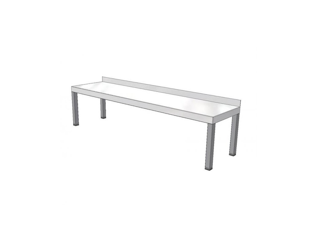 9107 stolovy nastavec jednopatrovy 1400x300mm