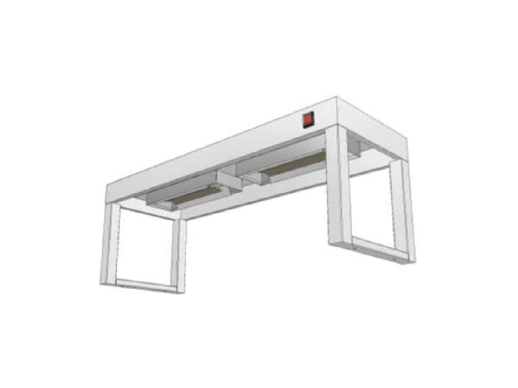 14297 stolovy nastavec jednopatrovy s infraohrevem ksnji 350x1500