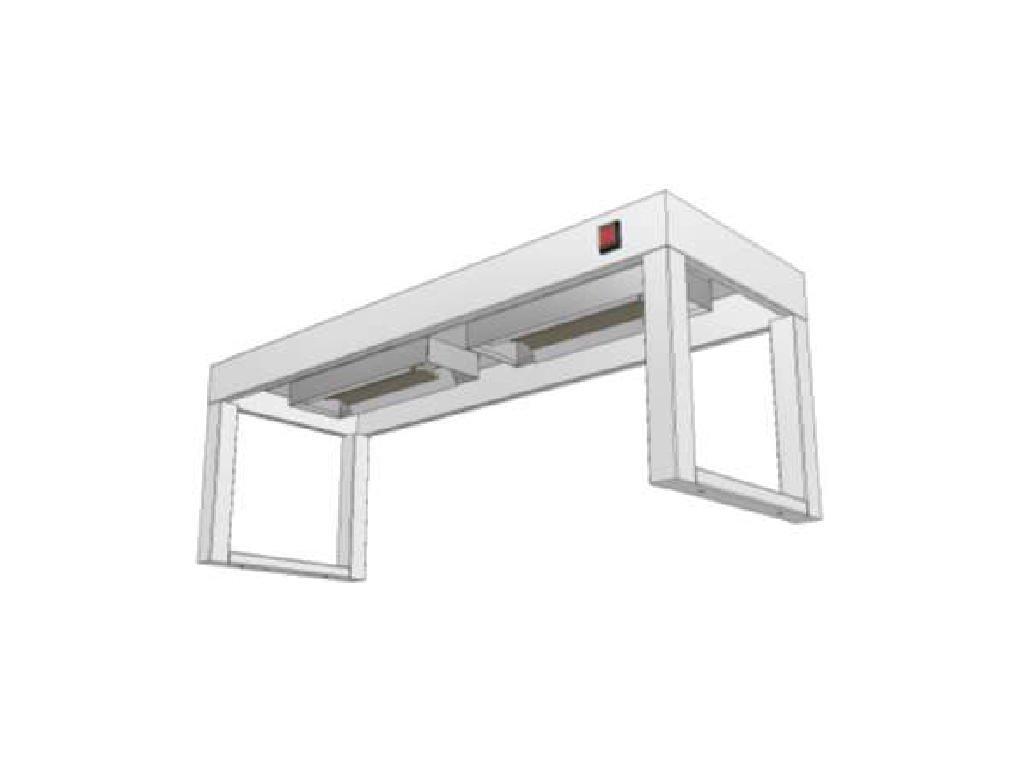 14348 stolovy nastavec jednopatrovy s infraohrevem ksnji 400x1900
