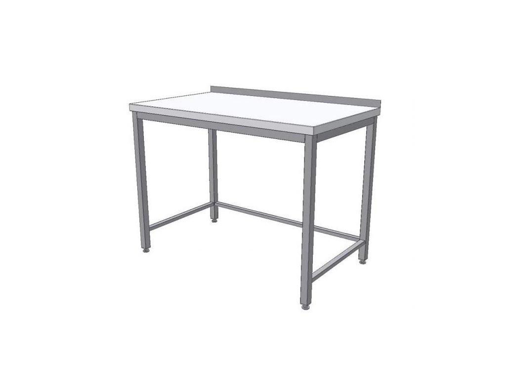 4202 stul pracovni s nierolenovou deskou 1800x600x900mm ksptn